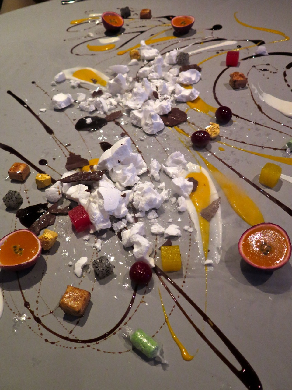 Restaurant review alinea chicago il for Cuisine alinea