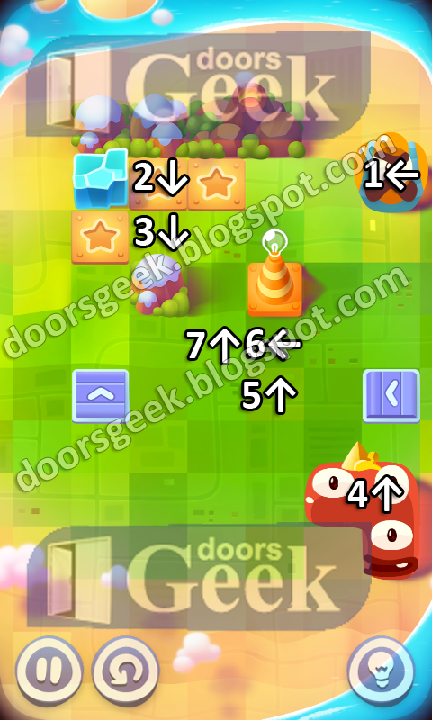 pudding monsters sky view level 5
