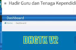 Cara Entri Kehadiran GTK Manual di DHGTK V.2