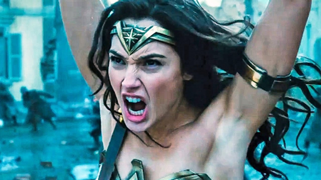 Wonder Woman 2017, Israeli actress Gal Gadot plays Princess Diana