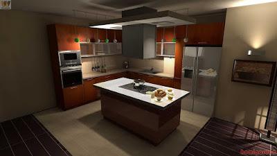 kitchen, design, interior, modern, architecture