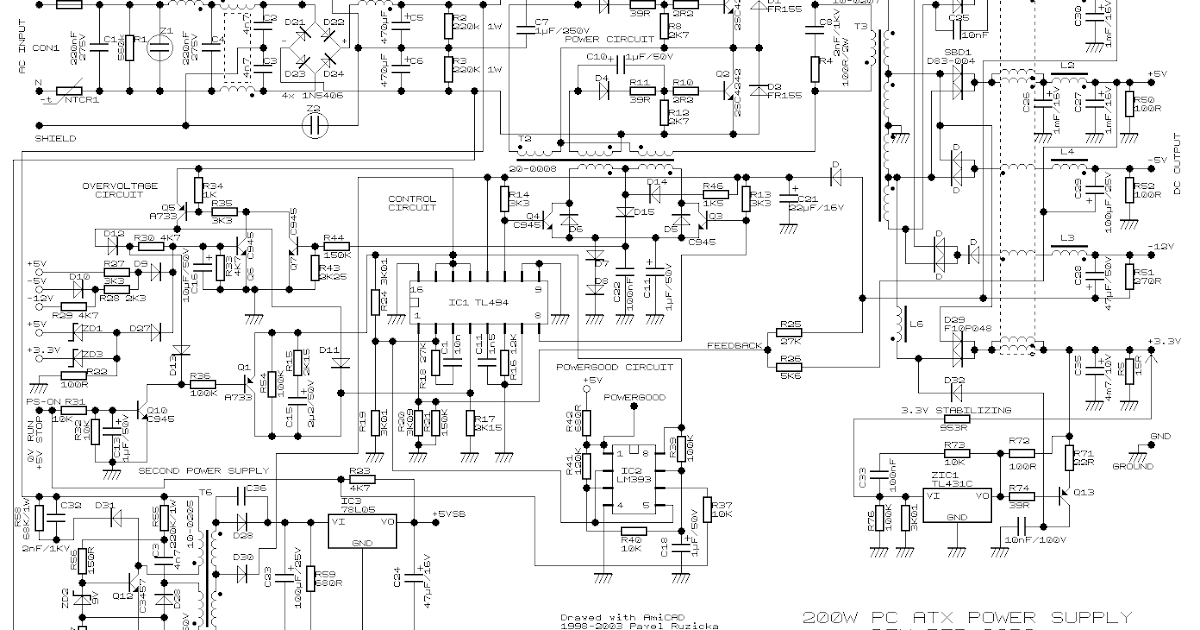 xcb2rtech: Power Supply Circuit
