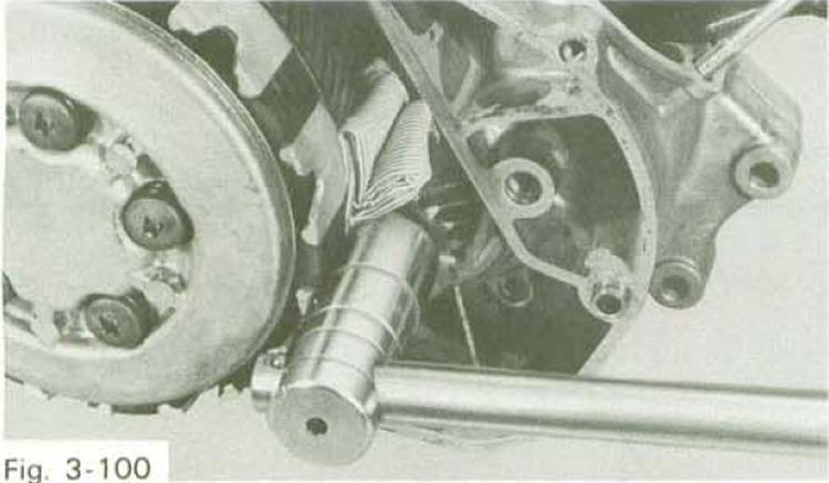 Restoration Yamaha Rd125 A  Replacing Clutch Plates