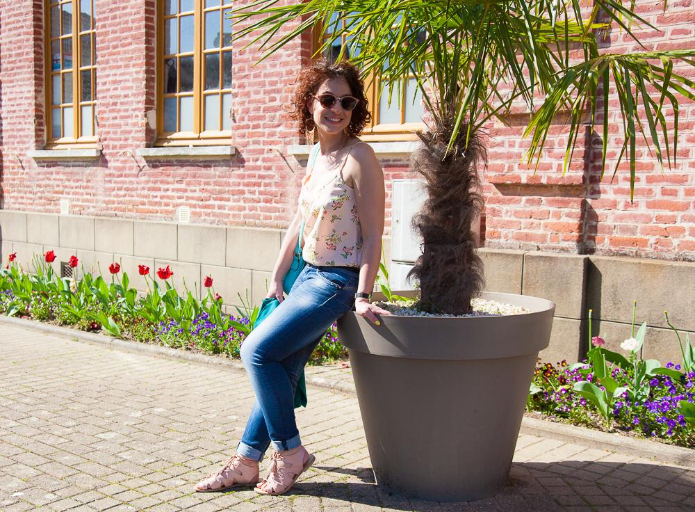 look - imprime - fleuri - printemps - promod
