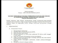 Dibuka !! Penerimaan Pegawai Pemerintah Non Pegawai Negeri Komisi Aparatur Sipil Negara (KASN)