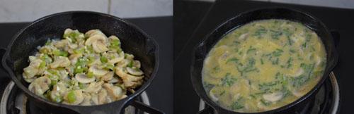 Oven Baked Mushroom Frittata Recipe