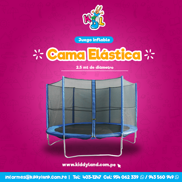 Alquiler Inflable Mediano Lima