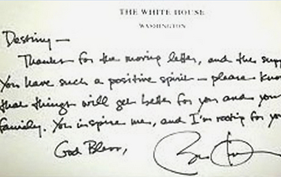 President Obama Write a Letter