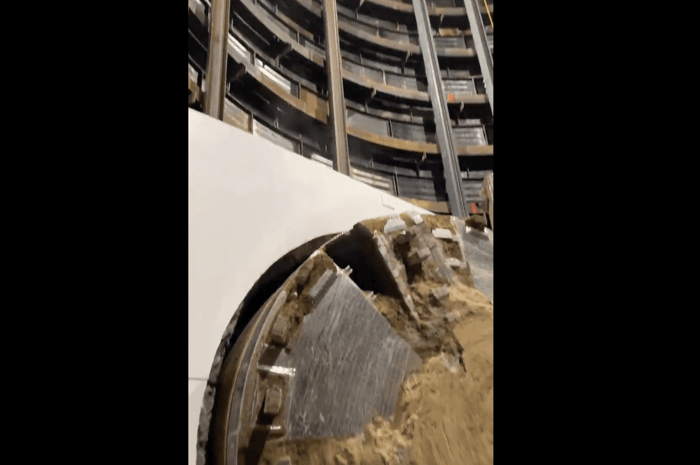 The Boring Company Gets All The Way To The Finish Of Its First Test Tunnel