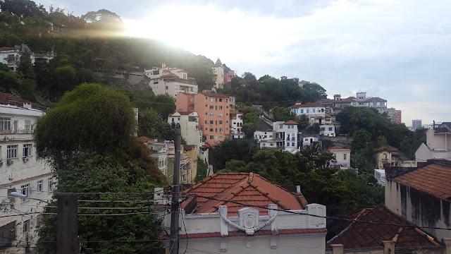 Ausblick Hostel Rio de Janeiro