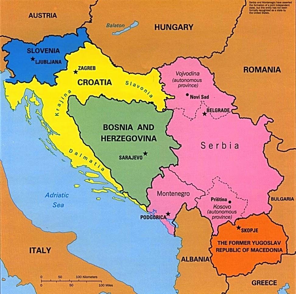 mapa croacia montenegro Diário de Viagem: Eslovênia, Croácia e Montenegro mapa croacia montenegro