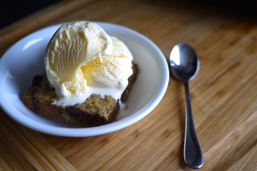 Bourbon Brown Butter Brownie Blondie