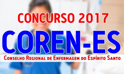 Apostila concurso COREN-ES 2017