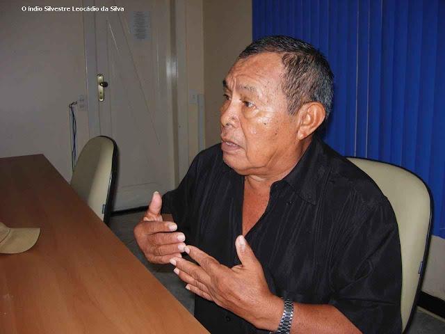 O índio Silvestre Leocádio da Silva viu injustiças verde-vermelhas contra os índios e a natureza