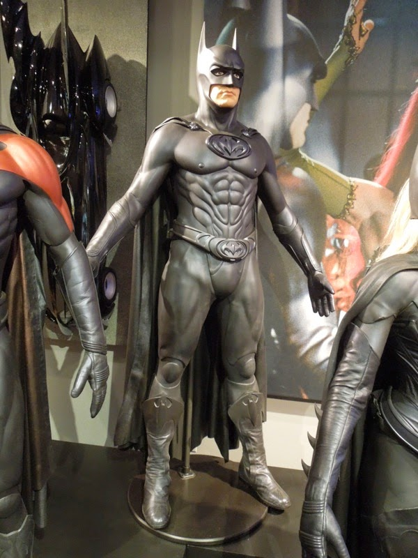 George Clooney Bat-suit Batman and Robin