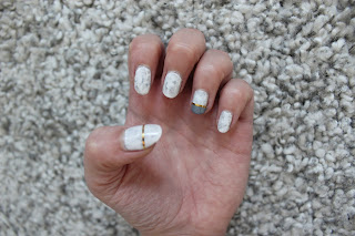 Clothes & Dreams: NOTD: Marble nails