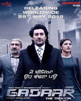 Poster Of Punjabi Movie Gadaar The Traitor 2015 Full HD Movie Free Download 720P Watch Online Movies365.in