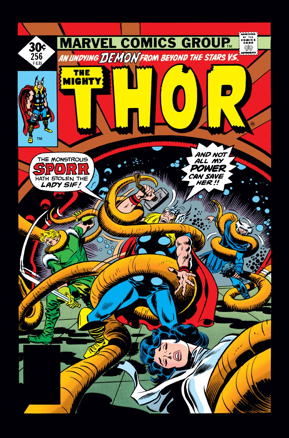 Thor (1966) 256 Page 1