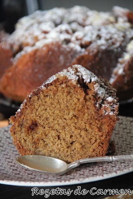 Bundt cake de canela