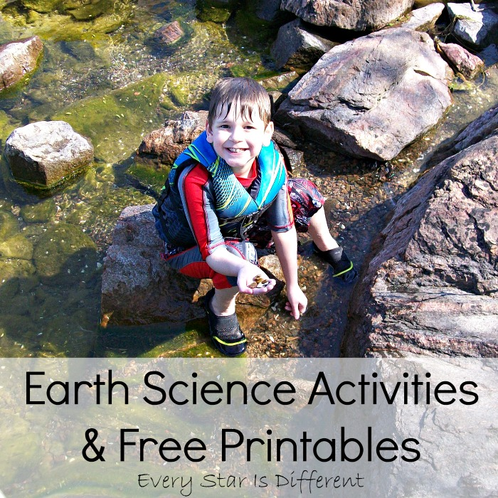 Earth Science Activities and Free Printables