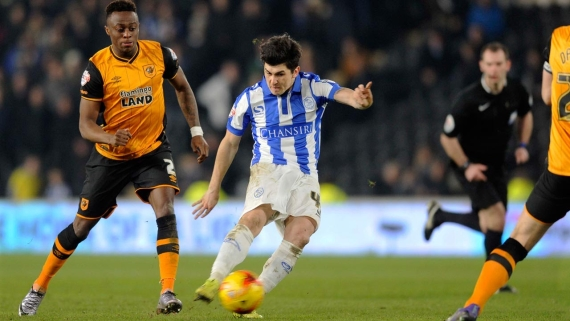 Hull City taking on Sheffield Wednesday earlier this season in the league.