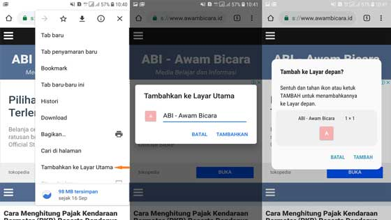 tips dan trik google chrome versi android dan ios