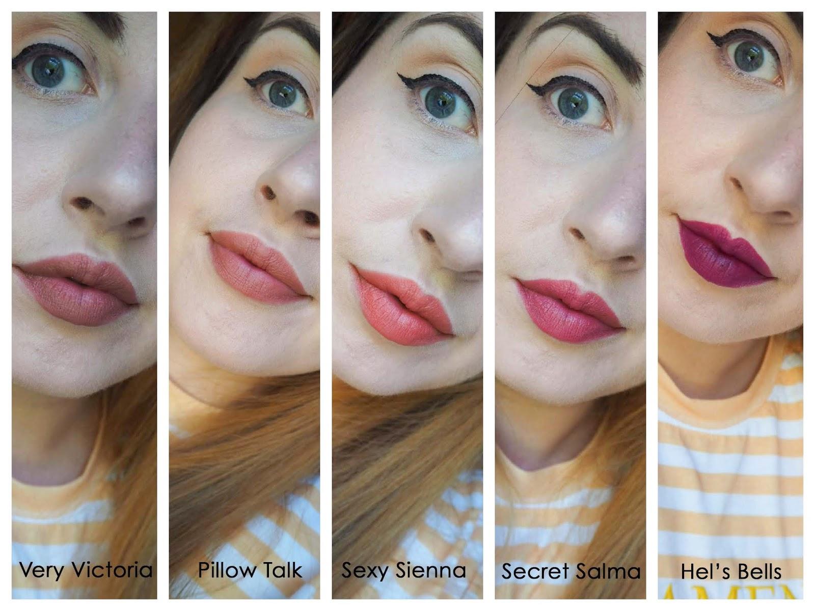 charlotte tilbury lipstick favourites