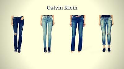 Calças Jeans Femininas da Calvin Klein