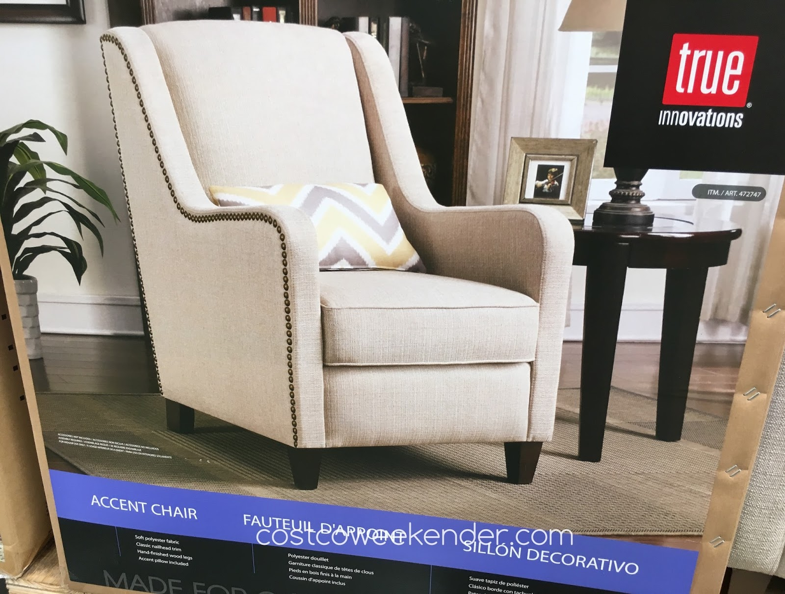 True Innovations Chair Costco Fabric Recliner And Footstool July 2016 Weekender