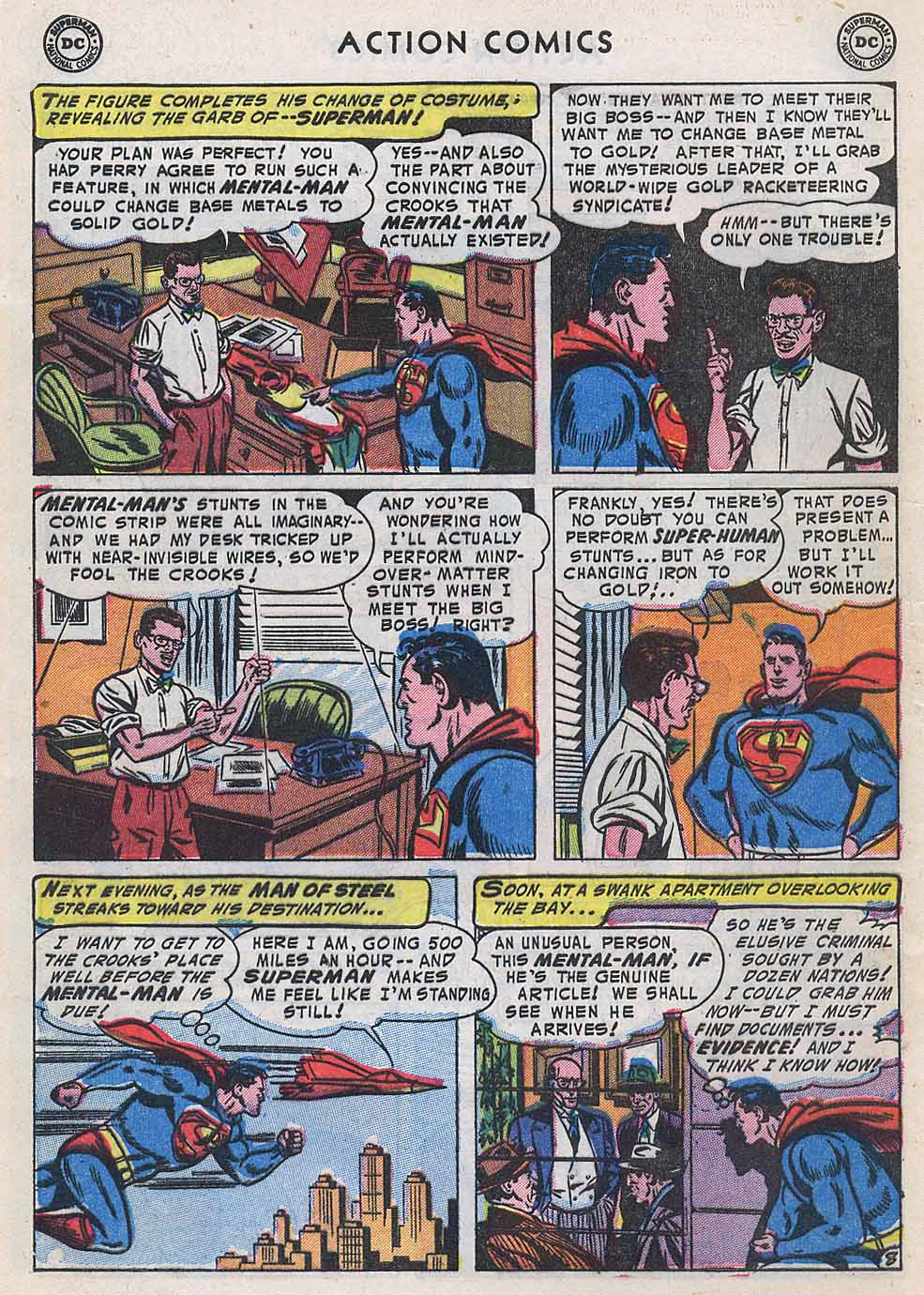 Read online Action Comics (1938) comic -  Issue #196 - 10