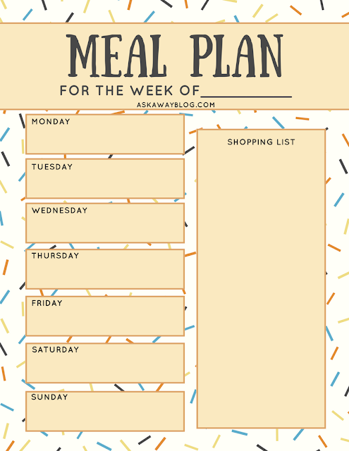 Meal planning helps you eat better and save money