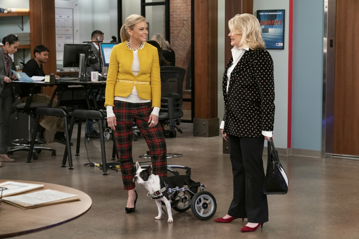 Murphy Brown - Season 11 Episode 11: The Wheels on the Dog Go Round and Round
