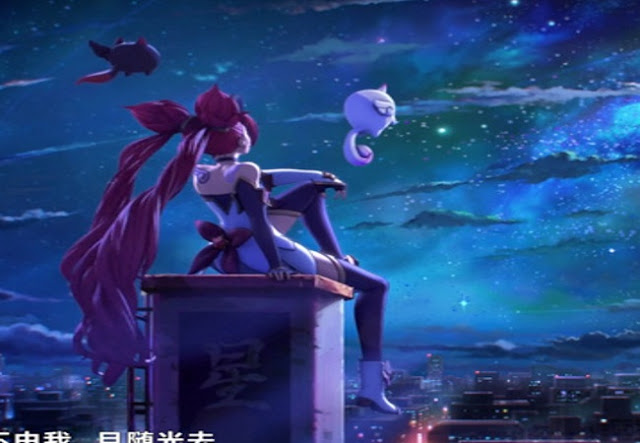 Lacus Magic Girl LOL Wallpaper Engine