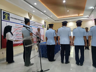 Dandim 0703/Cilacap Hadiri Serah Terima Jabatan Kalapas Wilayah Nusakambangan Cilacap
