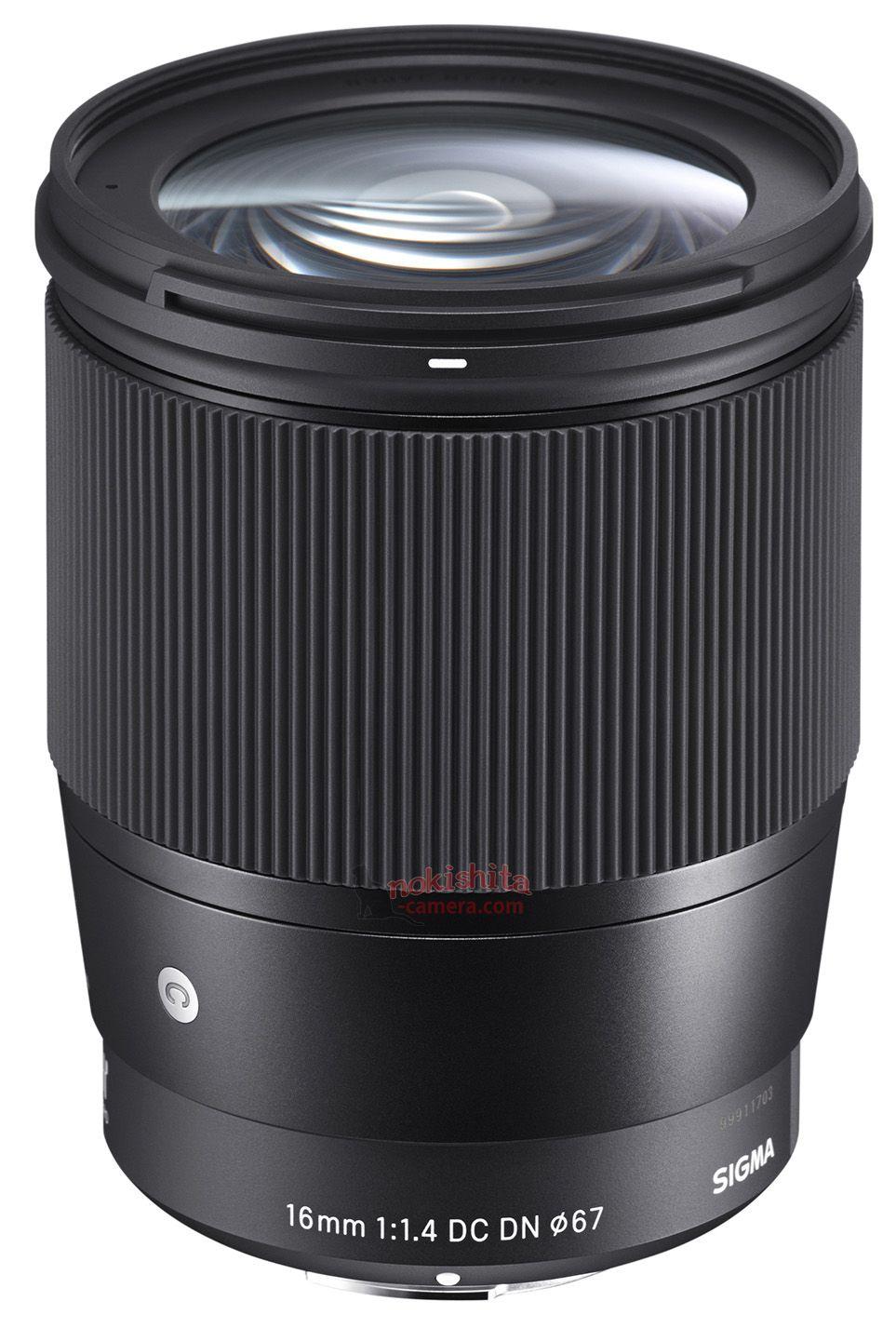 Sigma 16mm f/1.4 DC DN