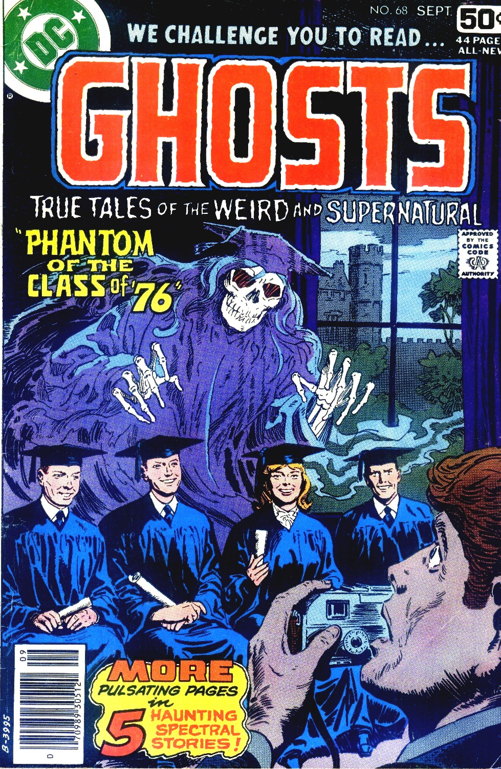 Read online Ghosts comic -  Issue #68 - 1