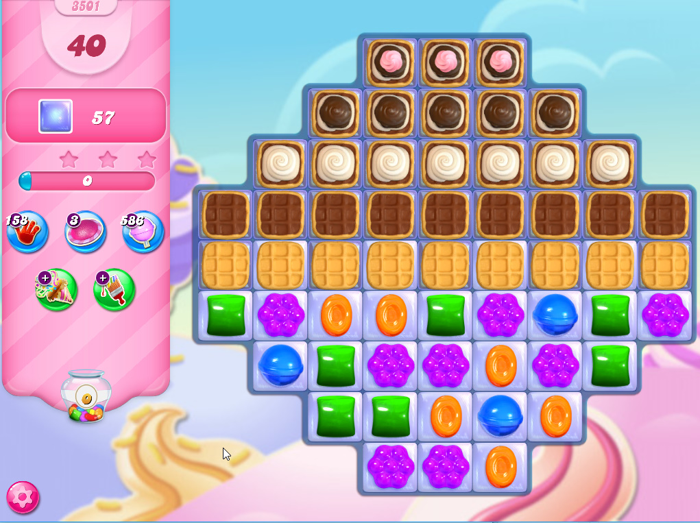 Candy Crush Saga level 3501
