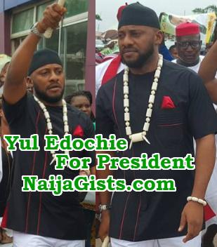 yul edochie run president