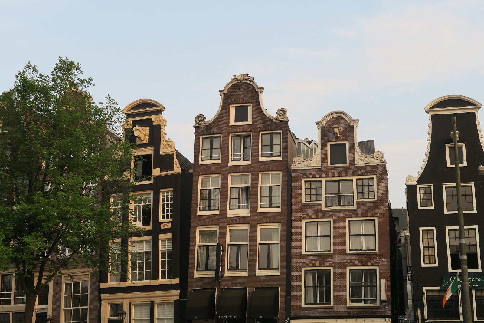 The Dancing Houses in Amsterdam