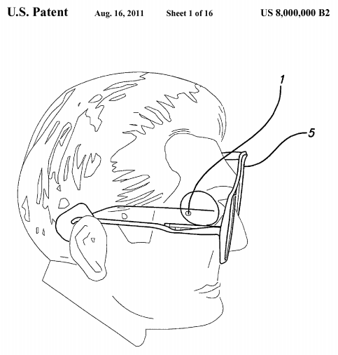 U.S. Patent Number 8,000,000 - Figure 1