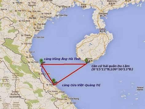 căn cứ quân sự Du Lâm – Vũng Áng – Cửa Việt