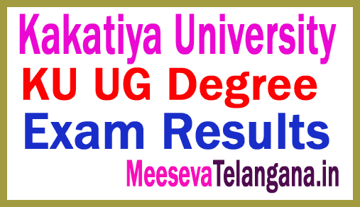 Telangana Kakatiya University KU UG Degree Results Download