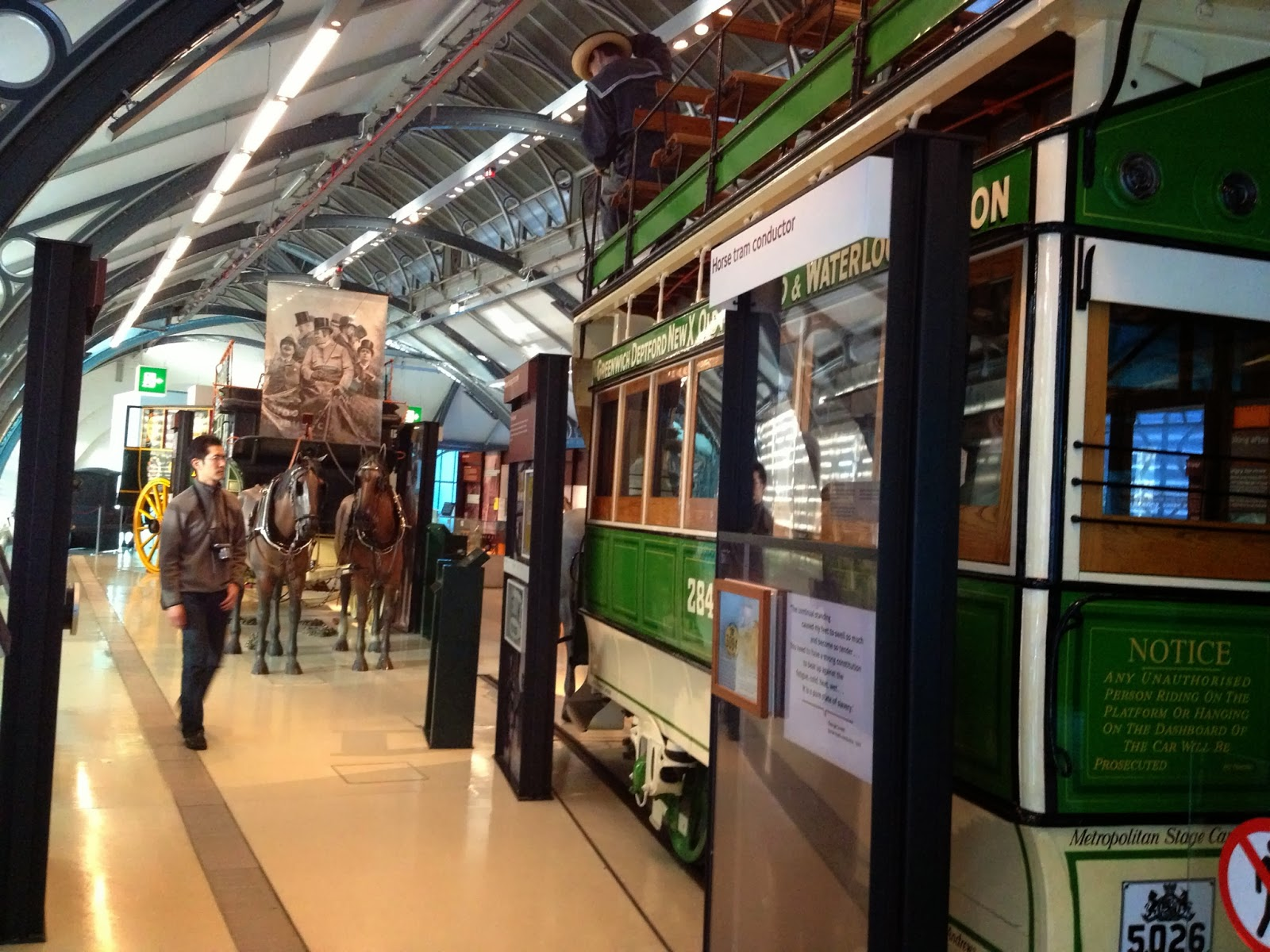 London - London Transport Museum