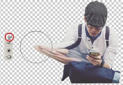 Membuat Efek Dispersion Smoke atau Serpihan Asap dengan Adobe Photoshop CS3