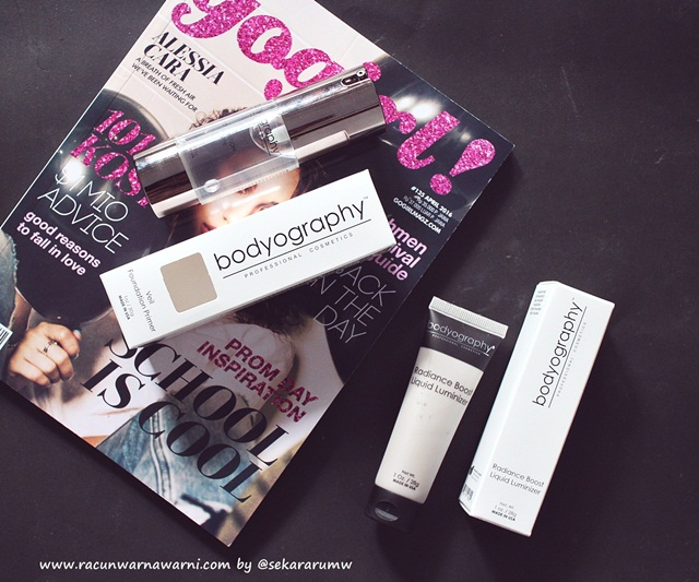 Review Bodyography Products