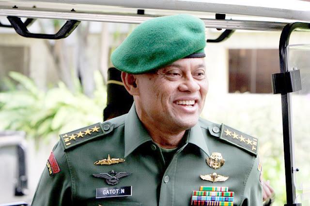 Begini Pesan LUCU Sang Panglima TNI Untuk Prajurit Yang Istrinya Mencoblos...Hehehe