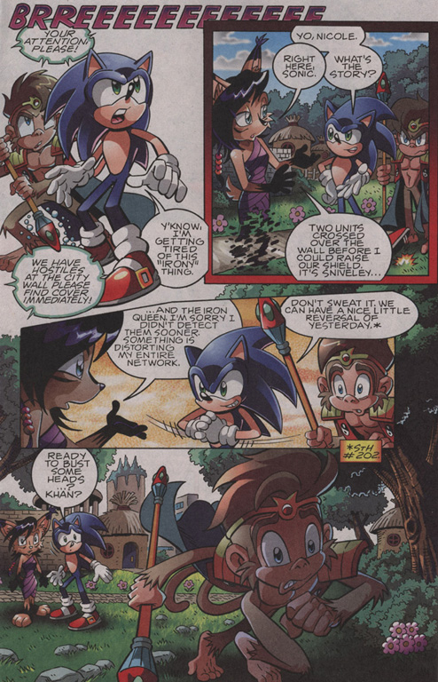 Read online Sonic The Hedgehog comic -  Issue #203 - 7