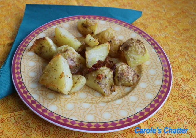 Carole's Chatter: Forked Roast Potatoes