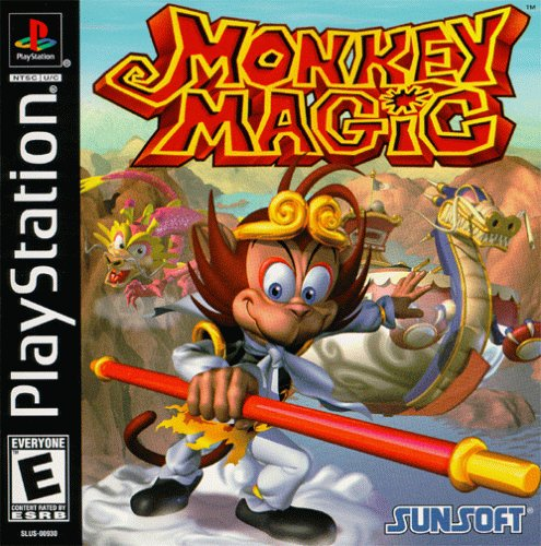 Monkey Magic - PS1 - ISOs Download