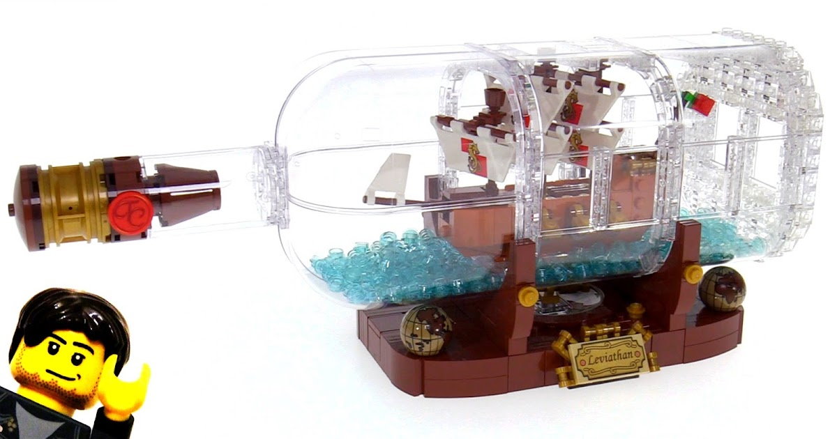 lego ideas ship in a bottle review 21313. Black Bedroom Furniture Sets. Home Design Ideas